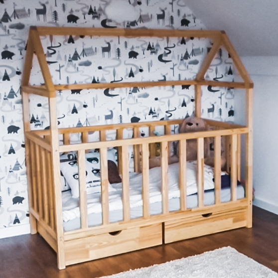 BABY HOUSE BED