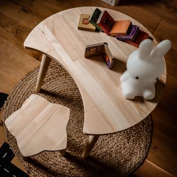 Stolik z krzesełkiem Moon&Star