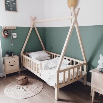Łóżko Tipi Bed niemalowane szybka wysyłka